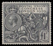 G.B. 209 - £1 (1929) PUC Never Hinged- Fault Free - GORGEOUS