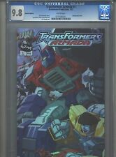 Transformers Armada #1 CGC 9.8 (2002) Dreamwave Productions Holofoil Edition