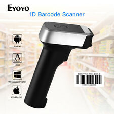 Bluetooth/Wired/Wireless Barcode Scanner CCD Reader Connect Android IOS Windows