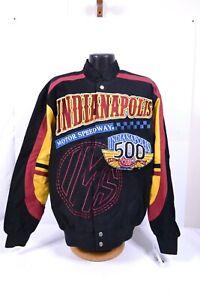 Indianapolis 500 Jacket Men's Motor Speedway 100th Anniversary Medium Limited