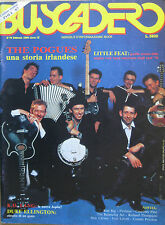 BUSCADERO 78 1988 Pogues Jeff Beck Reivers Little Feat Bevis Frond Run Rig Gang
