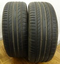 2 CONTINENTAL 225/45 R19 96W 6,6 mm Sport Contact 5 XL Sommerreifen DOT4416 PAAR