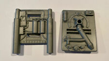 GI Joe 1987 Defiant Space Shuttle Booster Control Unit Parts Left and Right