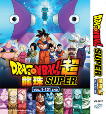 ANIME DVD DRAGON BALL Super Complete TV Series Vol.1-131 End Eng Subs + FREE DVD