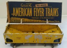 1940s American Flyer train coal and box/ toy trains/ vintage toys