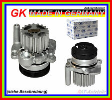 Wasserpumpe GK 980251 AUDI SEAT SKODA VW 1A OE Qualität Metallschaufel