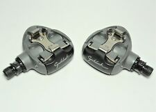 VINTAGE LOOK CYCLOLOOK BICYCLE GRAY CLIPLESS ALLOY ROAD PEDALS  9/16 X 20 TPI