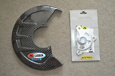 PRO CARBON Front Brake Disc Guard Cover SUZUKI RM125 RM250 2004 - ON