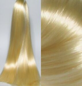 ICE BLONDE Saran Doll Hair for Custom Reroots