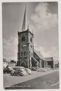 Denmark postcard - Vejle Sct Nicolaj Kirke - (A26)