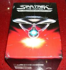 STAR TREK THE MOVIES 5 VHS 25TH ANNIVERSARY COLLECTORS SET