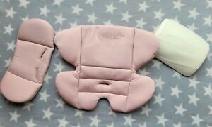 Mothercare Journey Car Seat Newborn Insert Pad and Head Support in Blush Pink