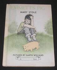 Emmet's Pig Mary Stolz Garth Williams Illustrations City Boy Goes to Farm HC