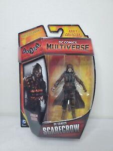 "DC Comics Multiverse Batman Arkham Knight Scarecrow 4"" 3.75"" Figure Dr. Crane"