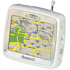 Ashroti Gps Navigator White With Preloaded Usa & Canada Maps