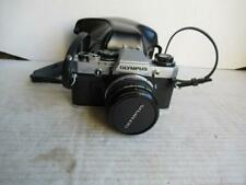 OLYMPUS OM10 FILM CAMERA + 50MM F1.8 LENS+PROTECTIVE CASE. VGC.