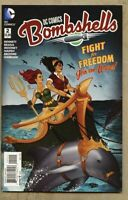 DC Comics Bombshells #2-2015 nm 9.4 Standard Cover Batwoman Wonder Woman