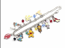 Winnie the Pooh charm bracelet silver colour costume jewellery cute gift present