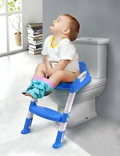 Toilet Training Seat Child Toddler Potty WC Stool Adjustable Chair Step Bathroom
