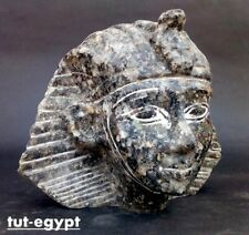 Rare Ancient Egyptian Antiques Statue King Mask Tutankhamun Stone (1334 Bc)