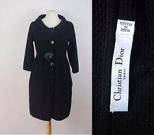 vintage CHRISTIAN DIOR cotton & leather floral corsage dress FR38