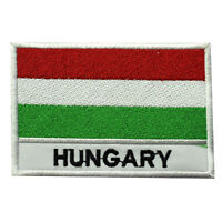 Hungary National Country Flag Patch Iron On Patch Sew On Badge Embroidered Patch