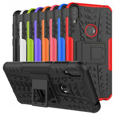 For ASUS ZenFone Max Pro ZB601KL Case Rugged Armor Hybrid Kickstand Phone Cover