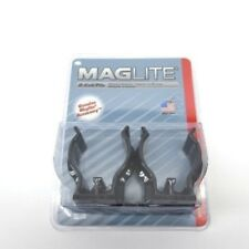 MagLite ASXD026 LOT OF 12 New in Box 2-Pack D-Cell Flashlight Mounting Brackets