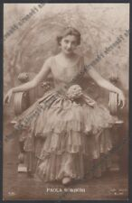 PAOLA BORBONI 04b ATTRICE ACTRESS ACTRICE CINEMA TEATRO MOVIE - PARMA real photo