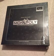 RARE 2015 Monopoly Deluxe Onyx Edition 80th Anniversary Barnes & Noble Exclusive