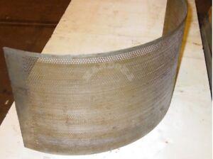 Gitter Siebe 3mm für Hammermühle / Sieve 3mm for Hammer mill