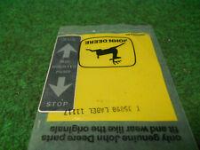 John Deere T35898 Label Decal Fits 510 Bin85