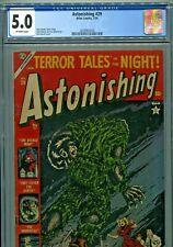 Astonishing #29 Atlas Comics 1954 CGC Graded 5.0