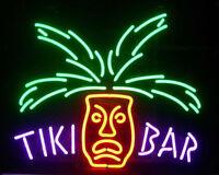 "17""x14""Tiki Bar Totem Pole Neon Sign Light Beer Bar Pub Wall Decor Visual Art"