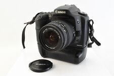 Canon 10D 6.3MP Digital DSLR Camera With BG-ED3 Battery Grip Lens  Near Mint