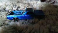 Hot Wheels Custom Fleetside.Model Car. Mattel. 1967 Redline. Blue.Good condition
