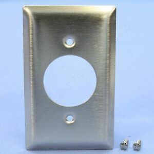 """PS NON-MAG Stainless Steel 1.60"""" Receptacle 20/30A Locking Outlet 1G Cover SS720"""