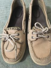 Sperry Topsiders Womens Size 6.5 M Leopard Print