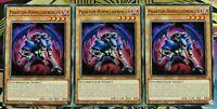 3x Phantom-Himmelssprenger SDSA-DE007 Common 1.Aufl Deutsch PLAYSET NM Yu-Gi-Oh!