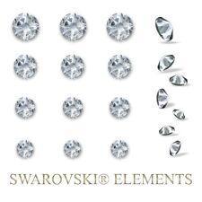 12 Swarovski Elements Strass Kristalle Steine selbstklebend Wandtattoo Straß var