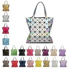 fb848e28681e Brand  ISSEY MIYAKE Bao Bao. Free postage. 36 sold. Women s Colorful Lingge  Geometric Laser Shoulder Bag Purse PVC Totes Handbags