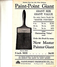 Giant Brushes Brush Prices Paint Point Products 99 South 6th St Brooklyn NY