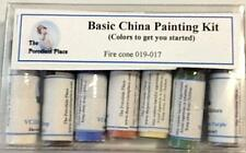Basic China Paint Kit for beginners