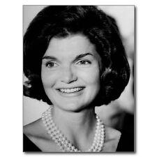 "~Post Card~""Jackie Kennedy"" w/White Necklace (Wife of President John F. Kennedy)"