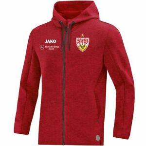 JAKO VfB Stuttgart Premium Kapuzenjacke Jacke Casual Kinder rot Gr. 152 164