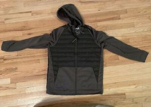 🏃🏼 Nike Therma Men's Full Zip Winterized Hoodie Jacket Green Large BV6298-325