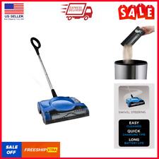 Cordless Sweeper Floor Carpet Swivel Rechargeable Vacuum Cleaner Household