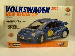 BBURAGO 2000 VOLKSWAGEN NEW BEETLE CUP COD. 79921 Blue Made in Italy