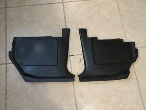 1968 1969 FORD TORINO COBRA FAIRLANE RANCHERO CYCLONE BLACK KICK PANELS