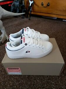 Boys Lacoste Trainers size 13